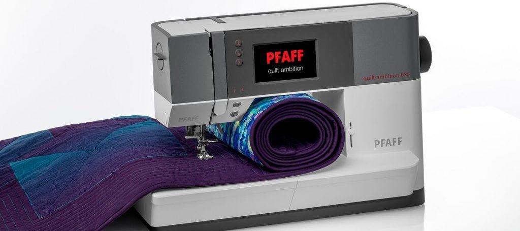 PFAFF quilt ambition 630 F&B Images